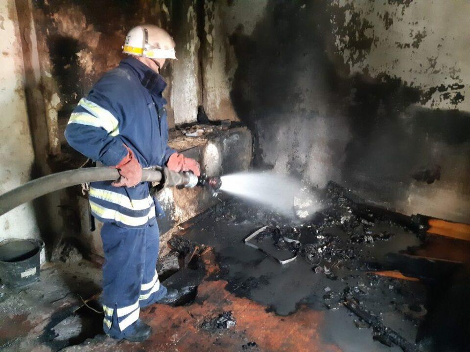 Пожар под Днепром