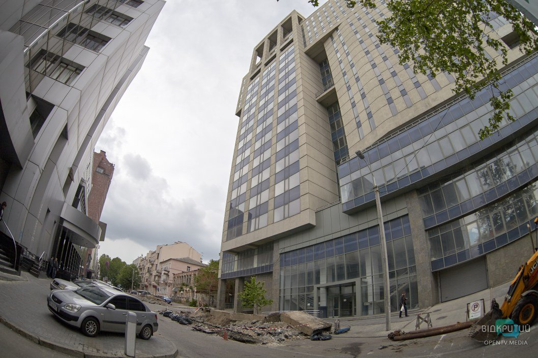 В Днепре перекрыли улицу Мечникова