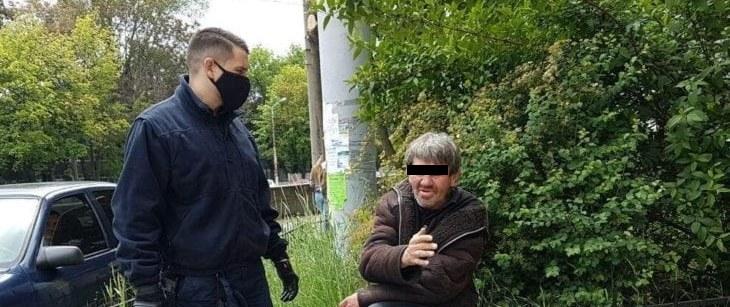 В Днепре бездомный приставал к 12-летней девочке (ФОТО, ВИДЕО)