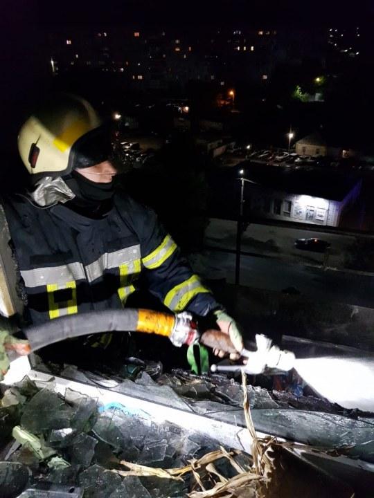 Пожар новомосковск
