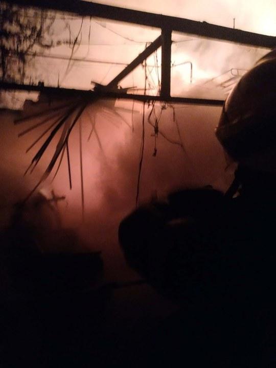 Пожар Обуховка