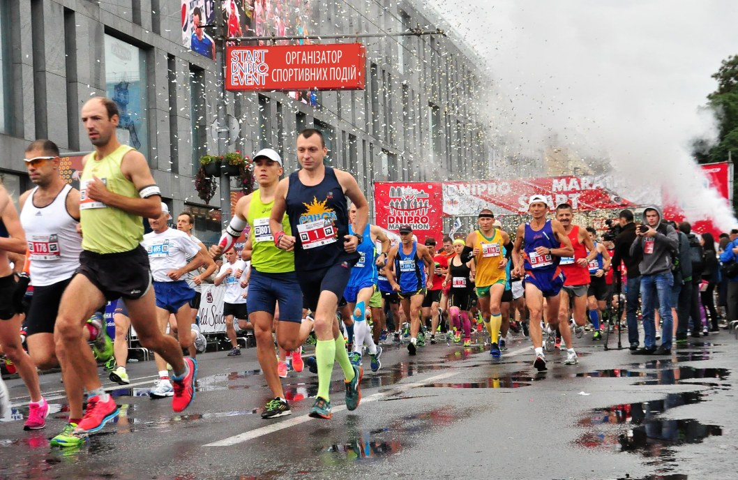 В Днепре из-за коронавируса отменили осенний марафон