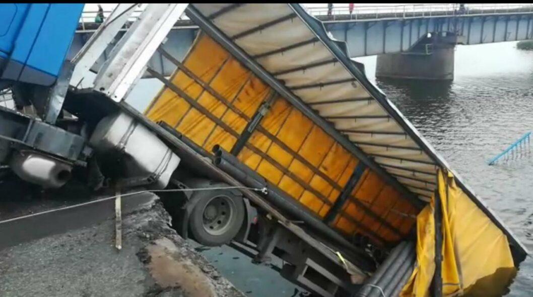 Почему обвалился мост возле Никополя (ВИДЕО)