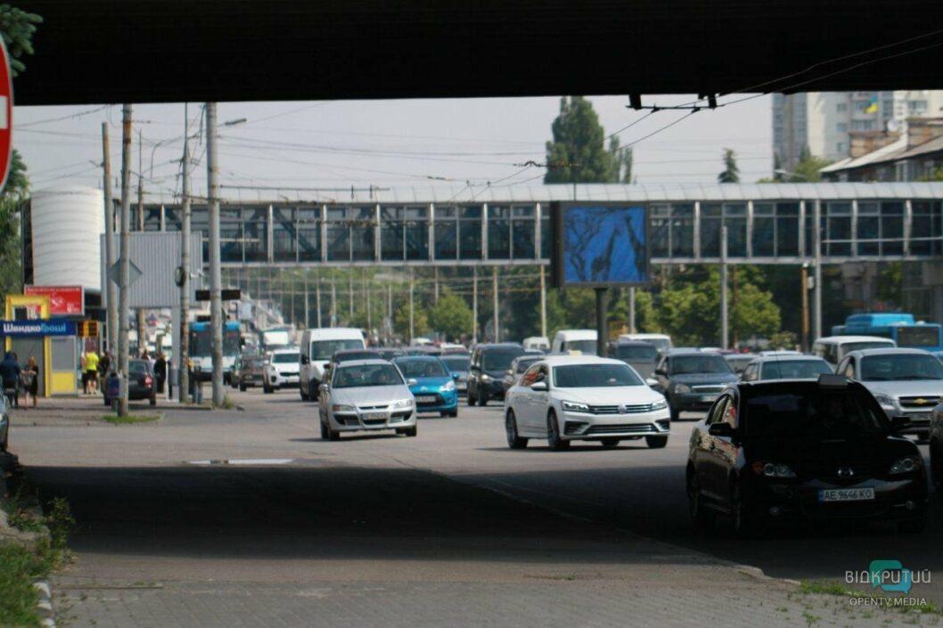 ДТП на Новом мосту в Днепре