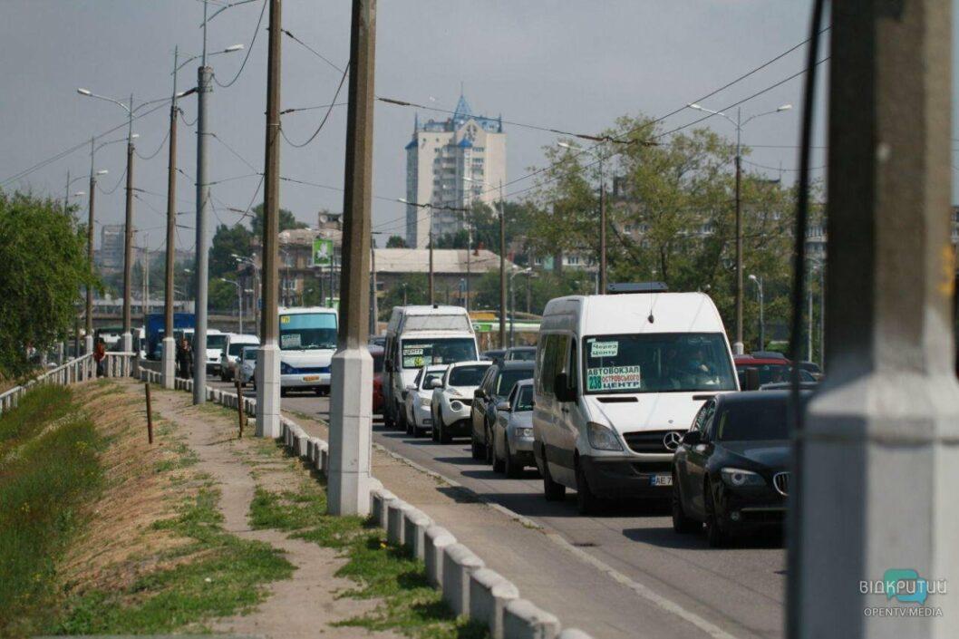 ДТП в Днепре на Новом мосту