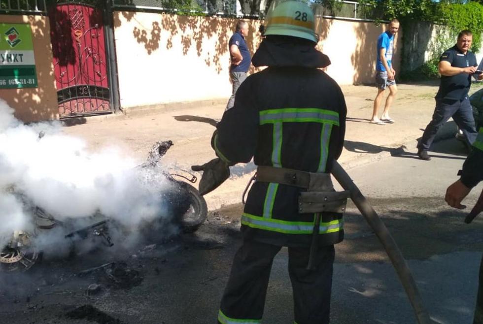 Пожар Никополь