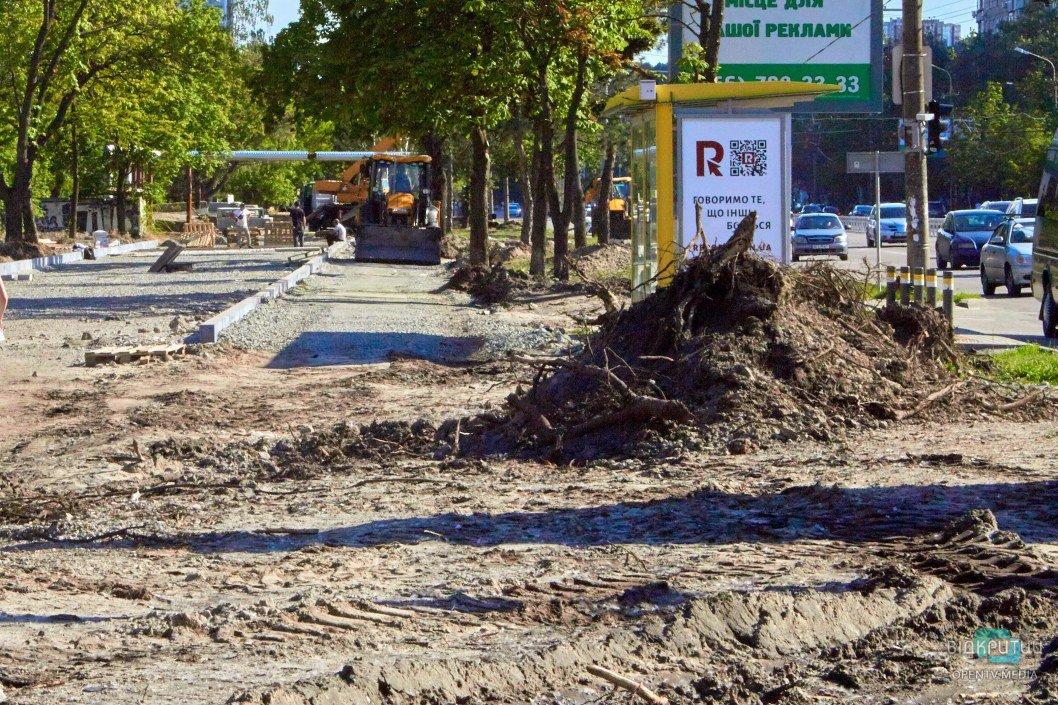 В Днепре ремонтируют Набережную Победы: что сделают и когда закончат (ФОТО)