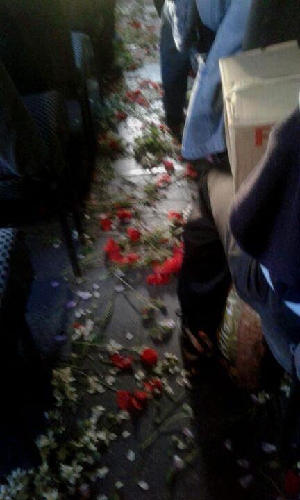 Марштрутка с цветами Троица