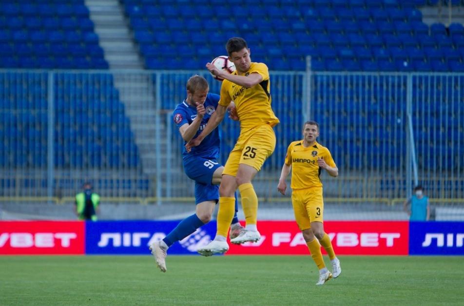 Волевая победа: СК Днепр-1 переиграл ПФК Львов в гостевом поединке