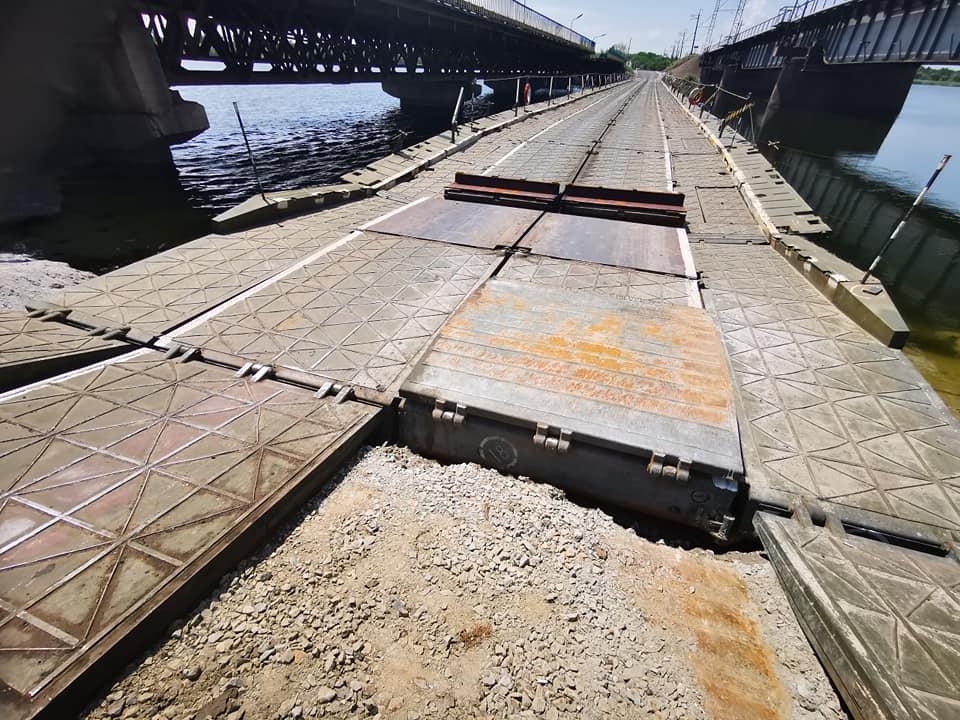 Мост под Никополем