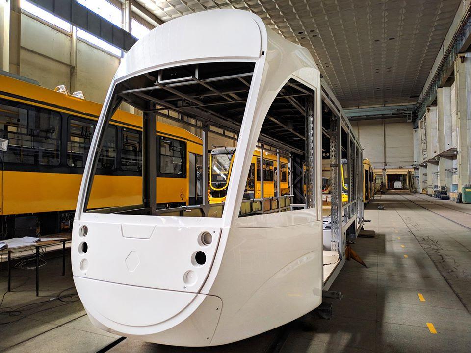В Днепре спроектировали новый комфортабельный трамвай
