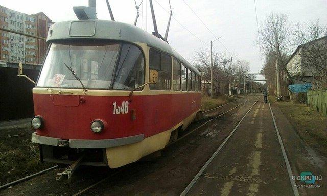 В Днепре трамвай №19 изменит свой график движения