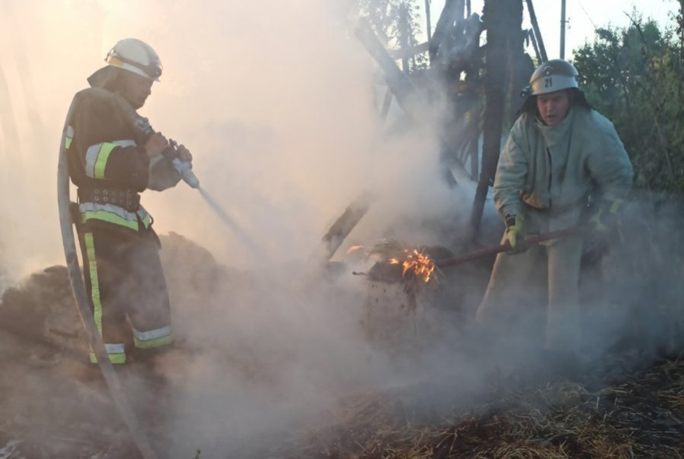 Пожар Левадное