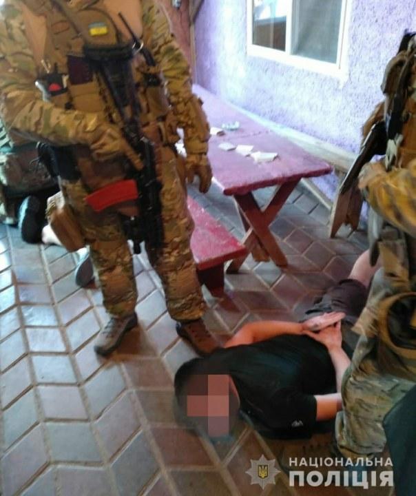 Полиция Днепр задержали преступников