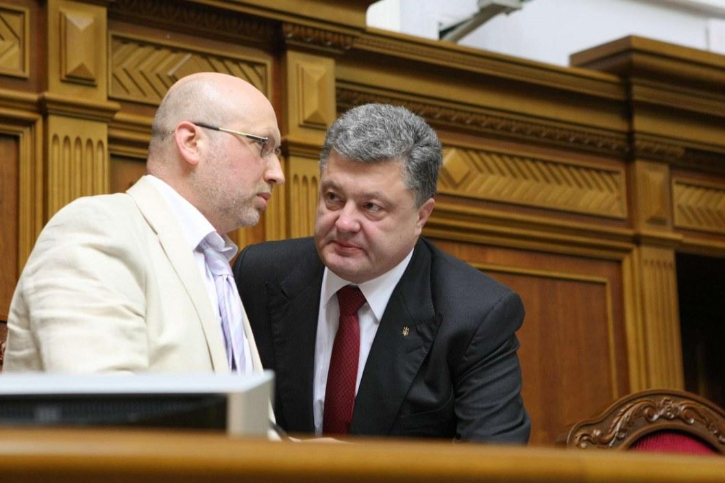 Экс-глава Рады Турчинов возглавил штаб партии Порошенко
