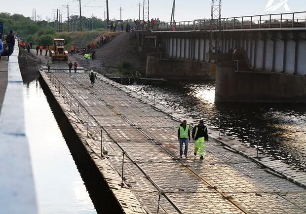Открытие, отмена: понтонная переправа под Никополем останется закрытой из-за непредвиденных обстоятельств