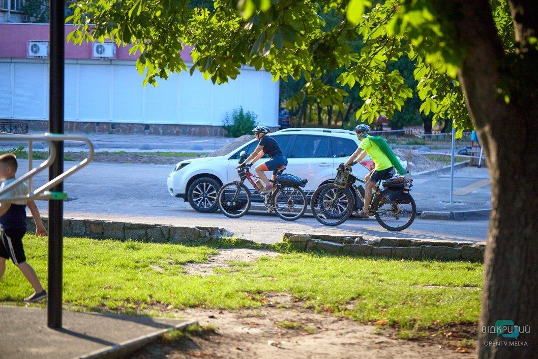 Отличная пора для покатушек на велосипеде.