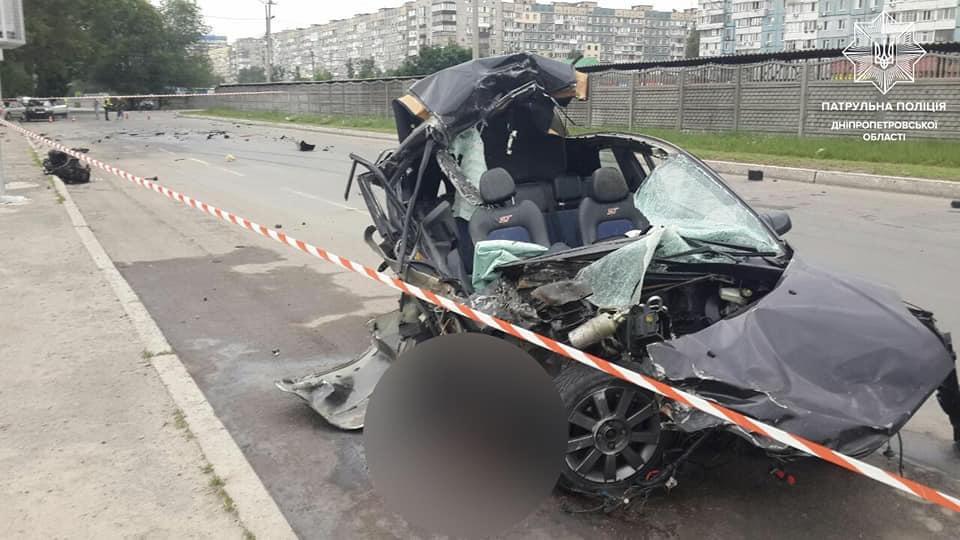 Сразу двое погибших: в Днепре сегодня произошло несколько смертельных аварий