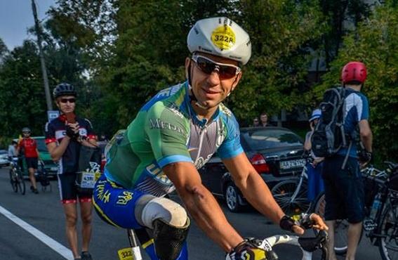 Как днепровский спортсмен-паралимпиец Алексей Бондаренко готовится к соревнованию IRONMAN (ВИДЕО)