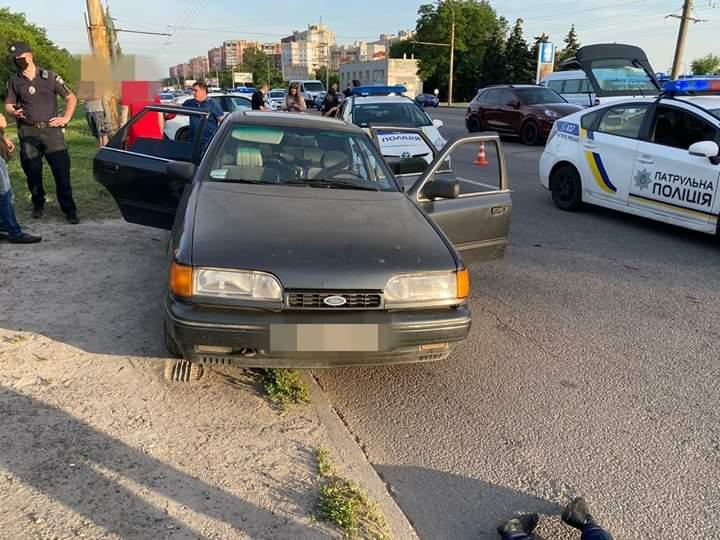 В Днепре застрелили полицейского (ФОТО)