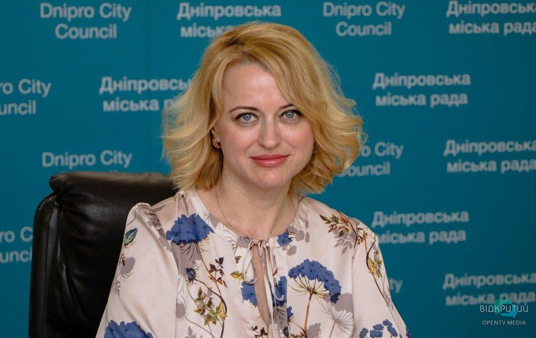 Начальник управления-службы по делам детей департамента социальной политики Днепровского городского совета Анна Довготько.
