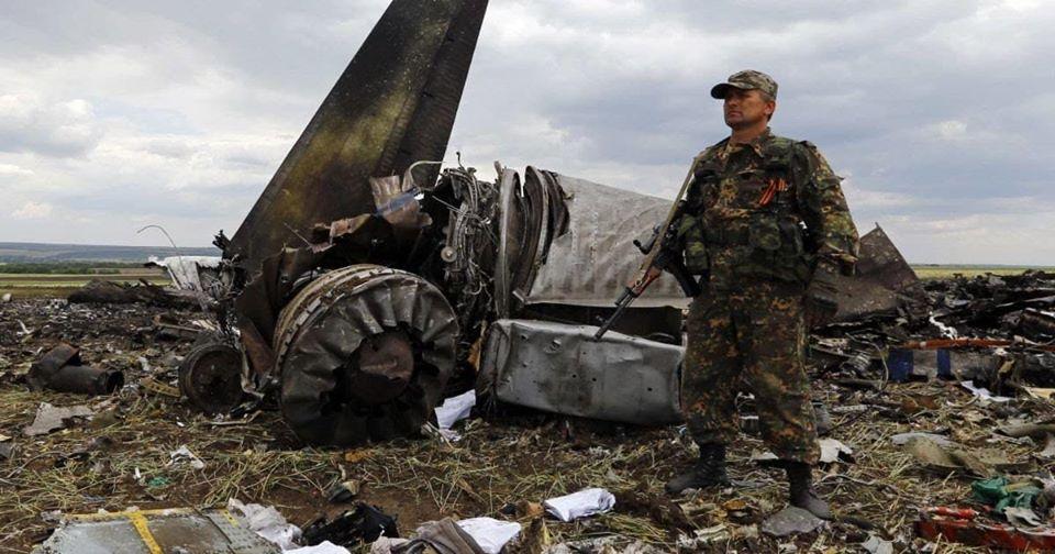 Ушли в небо: в Украине почтили память военных, погибших в самолете ИЛ-76 над Луганском (ВИДЕО)