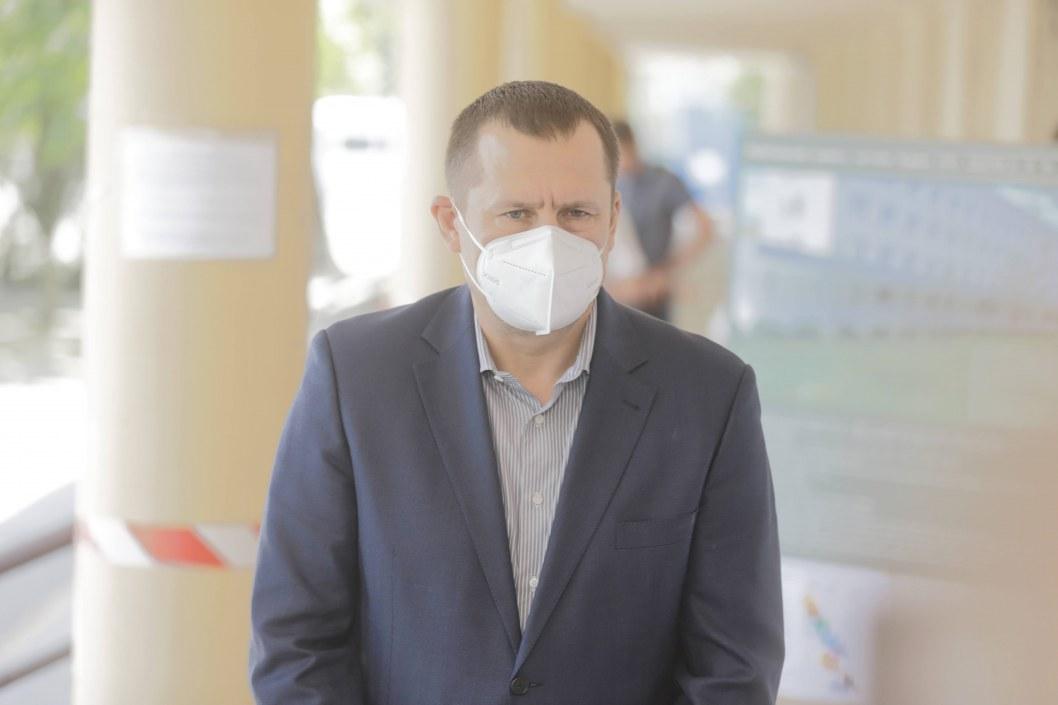 Борис Филатов проверил ремонт в медицинских центрах Днепра