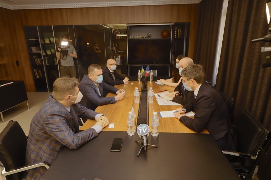 Борис Филатов встретился с послом Франции: о чем говорили