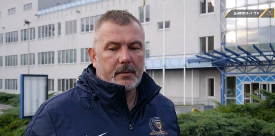 Береза прокомментировал победу СК Днепр-1 над Олимпиком (ВИДЕО)