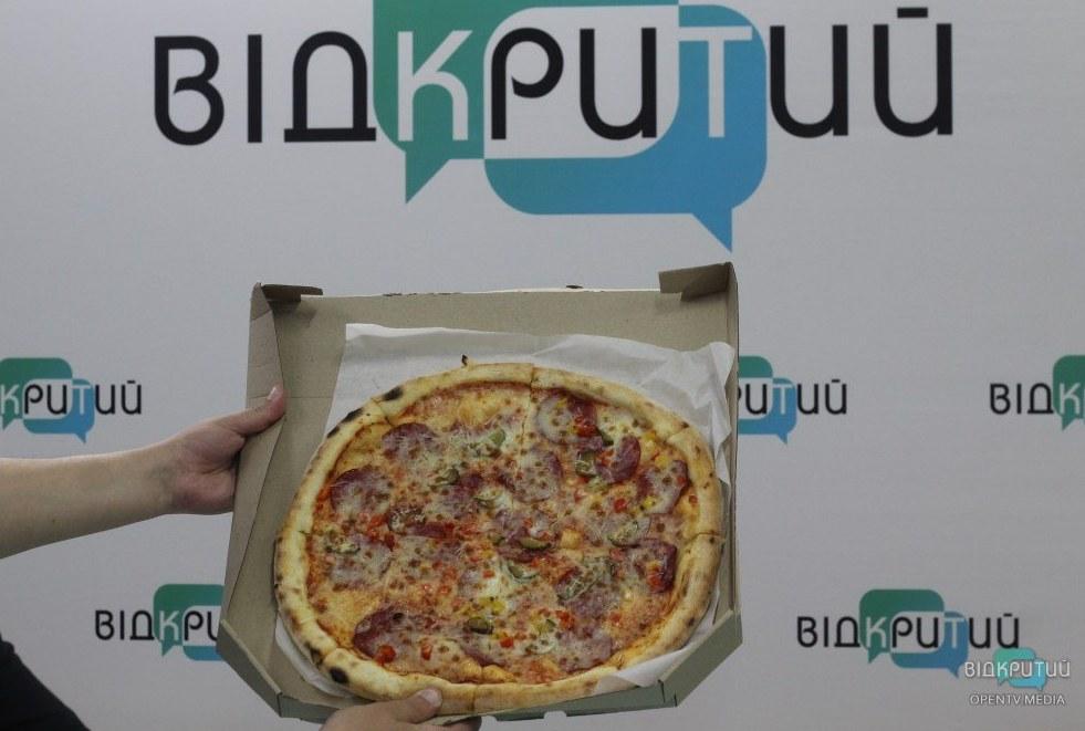 Пицца от мэра Днепра