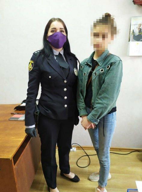 В Павлограде полиция вернула домой сбежавшую 15-летнюю девочку