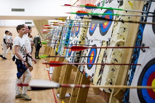 В Днепре прошли соревнования по стрельбе из лука (ВИДЕО)