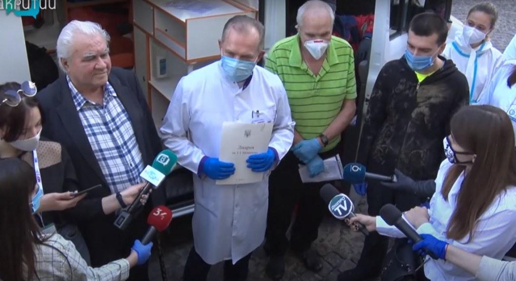 Коронавирус отступил: в Мечникова вылечили двух пожилых мужчин (ВИДЕО)