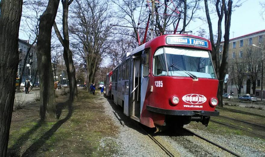 В Днепре трамваи перестанут ходить по Севастопольской