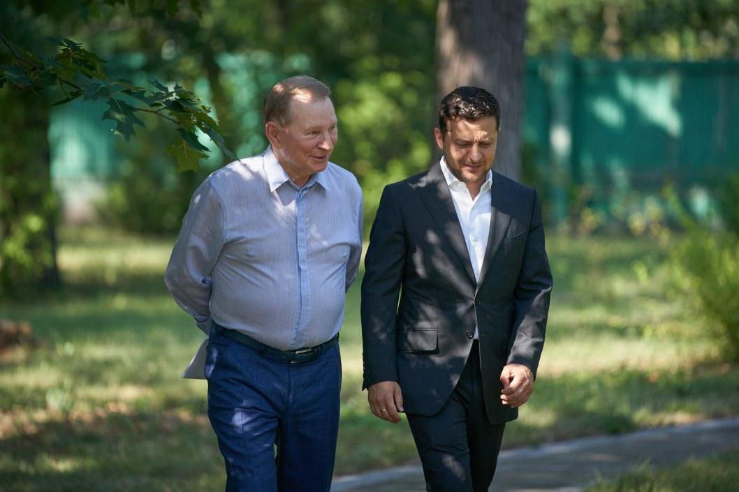 Экс-президент Кучма выходит из минских переговоров по Донбассу