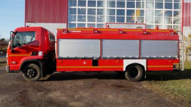 В Украине разработали уникальную пожарную машину