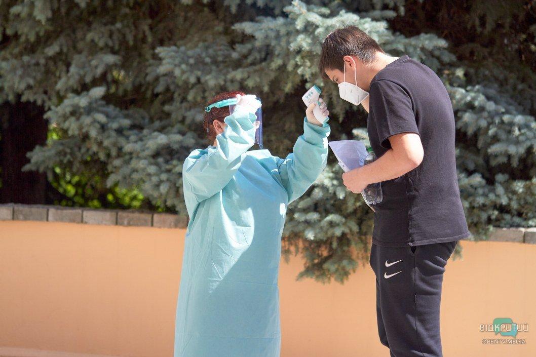 Как сдают ВНО днепровские школьники во время карантина (ВИДЕО)