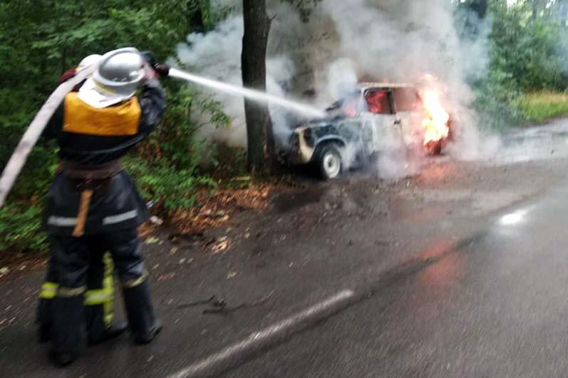Пожар в Орловщине