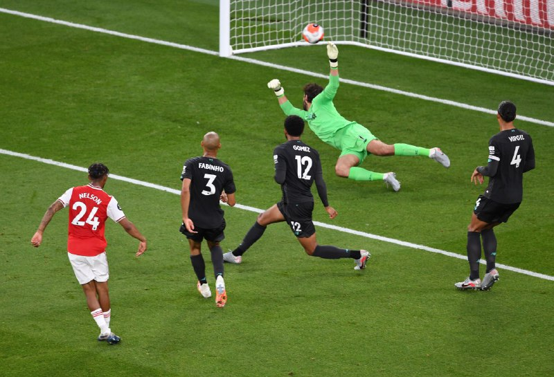 Арсенал Ливерпуль 2:1