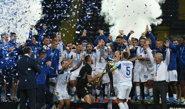 Драма в Харькове: Динамо обыграло в финале Кубка Украины Ворсклу
