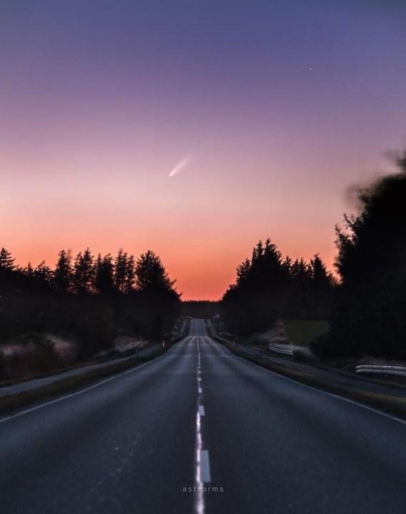 Калифорния, Дания и Украина: новую комету Neowise можно увидеть практически в любой точке мира