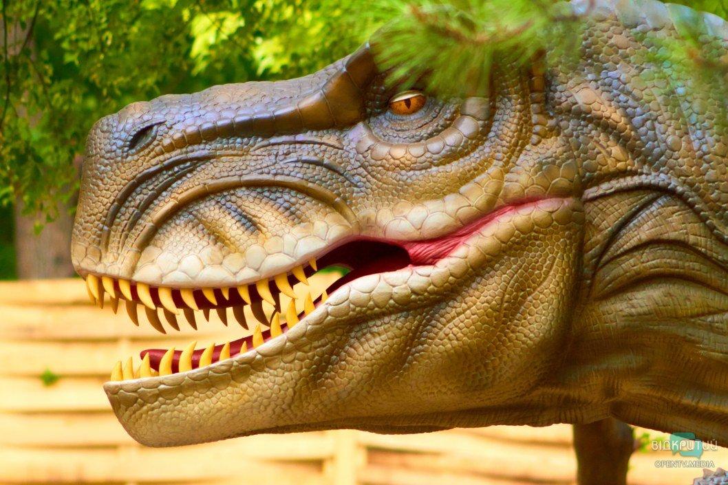В Днепре поселятся 100 динозавров (ФОТО)