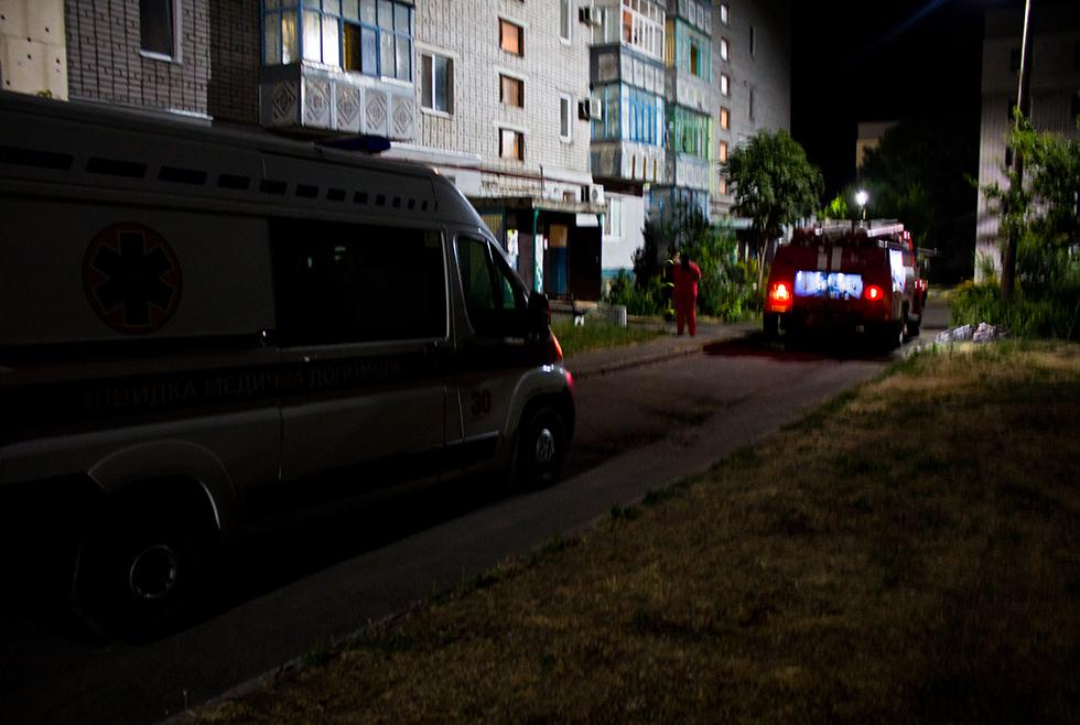 Пожар в квартире: в Вольногорске горел балкон