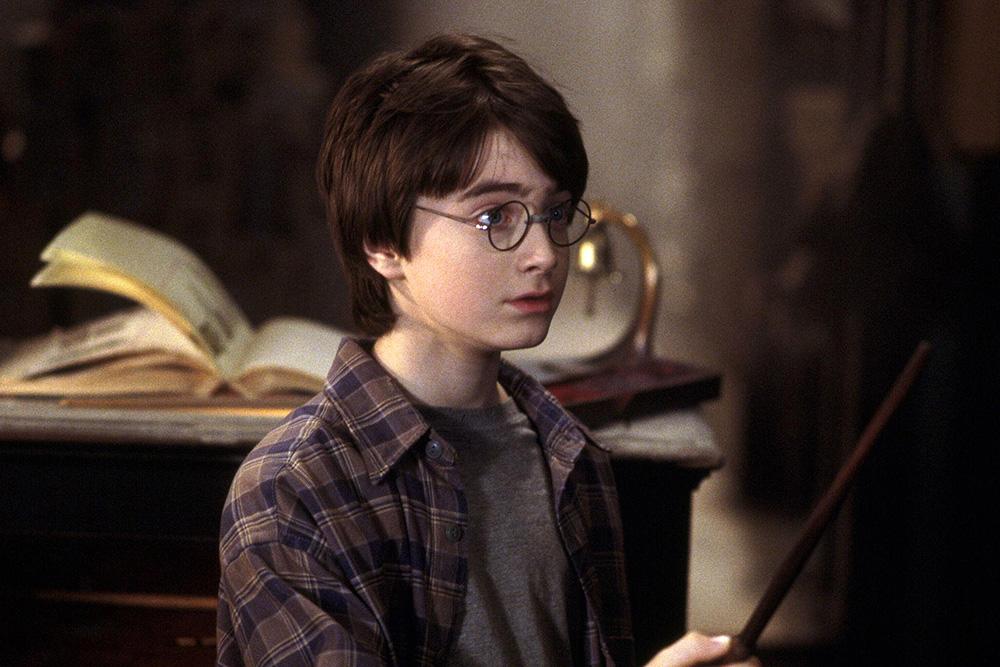 "КАдры из фильма ""Гарри Поттер"""