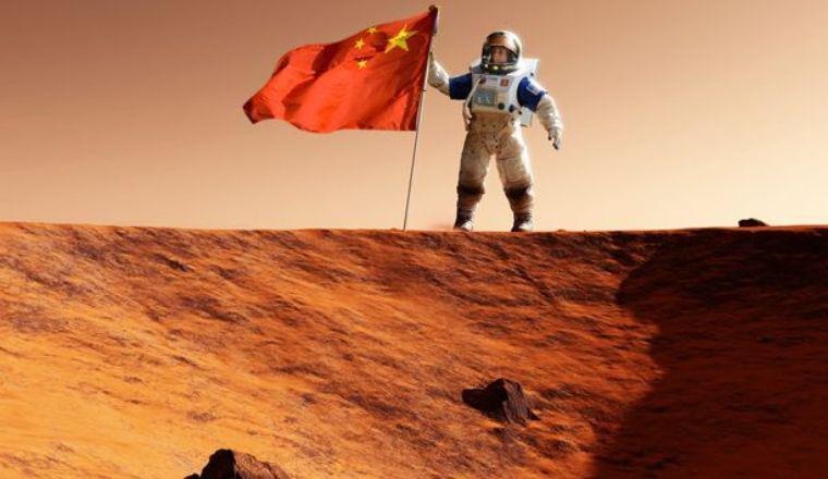 Китай запустил межпланетный зонд на Марс