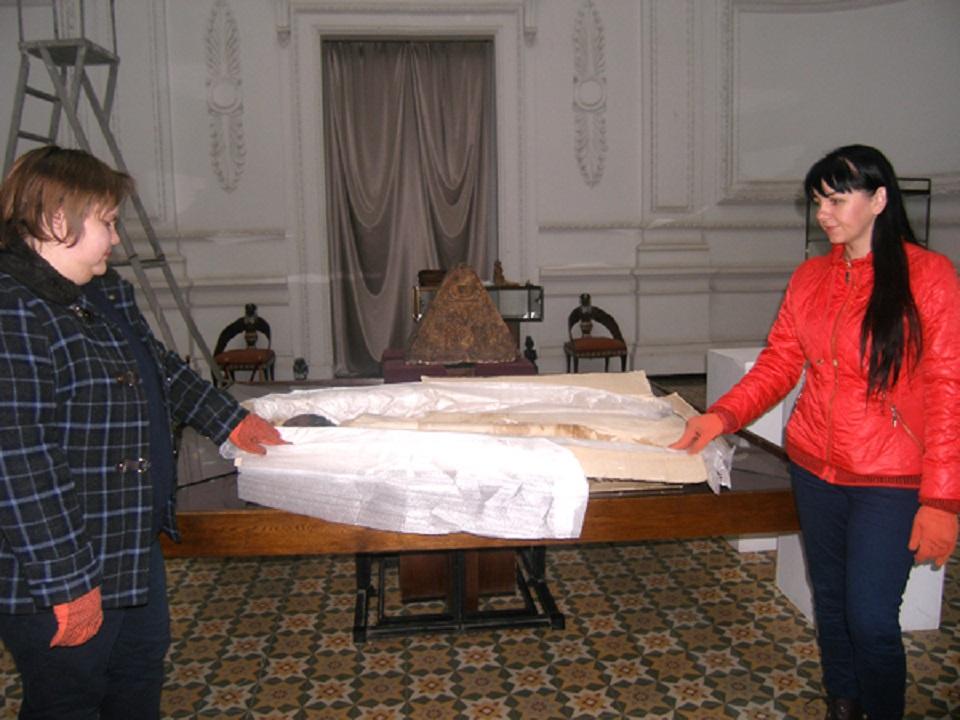 Мумия в историческом музее