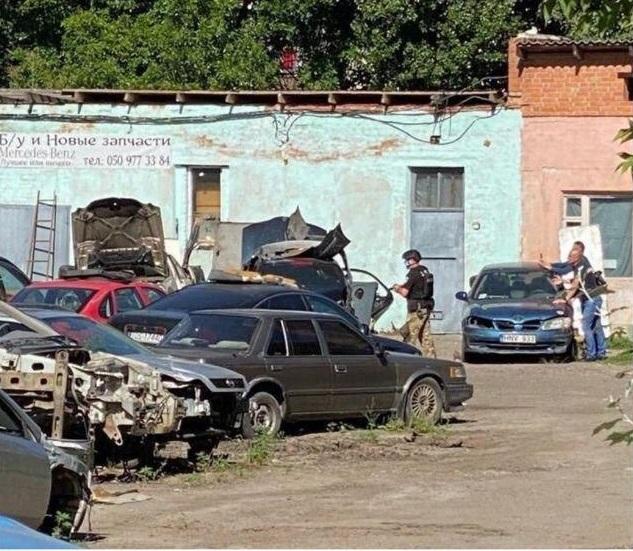 Полтавский террорист взял в заложники начальника уголовного розыска