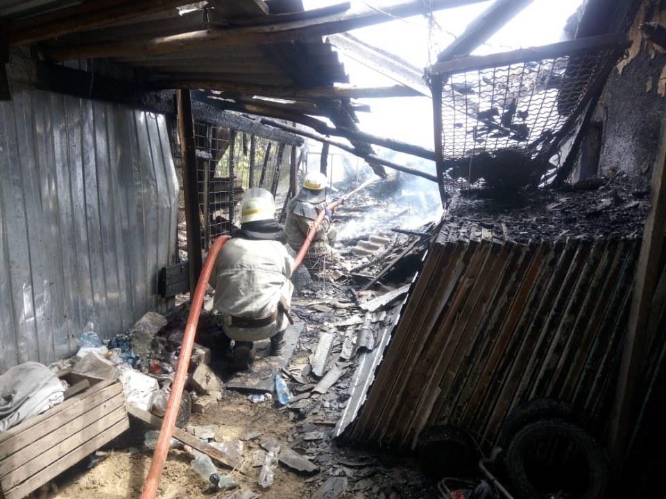 В Перещепино (Новомосковский район) сгорел жилой дом
