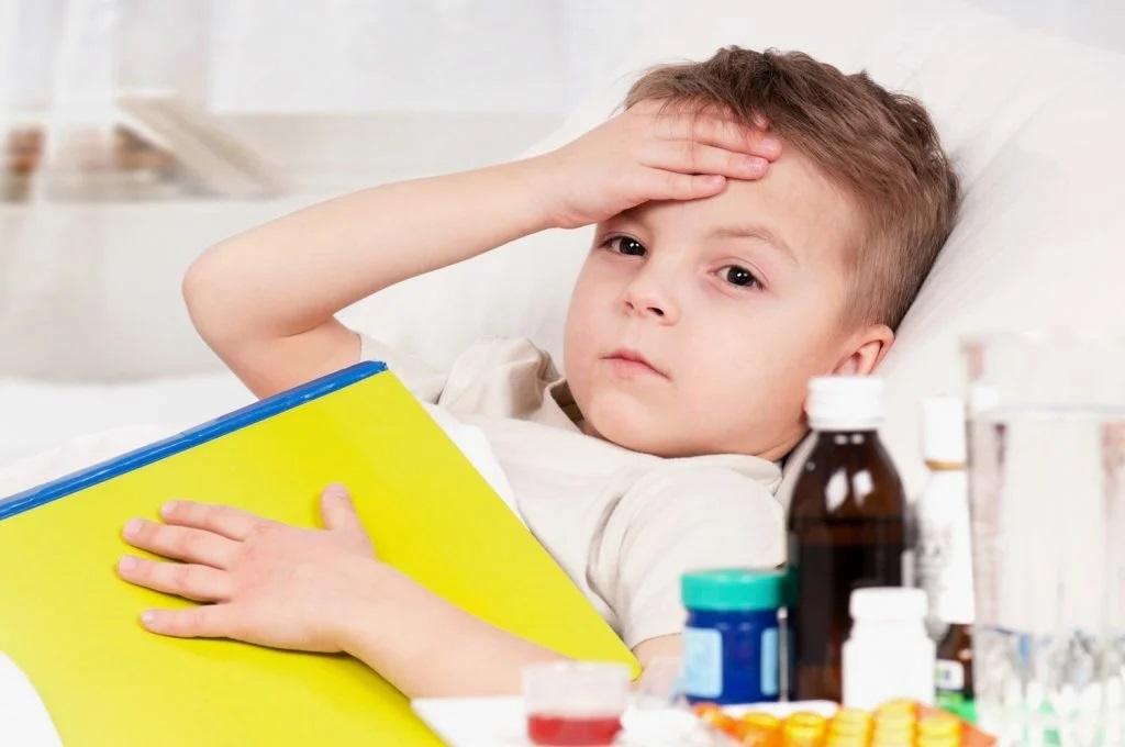 Температура у ребенка, надо ли ее сбивать?