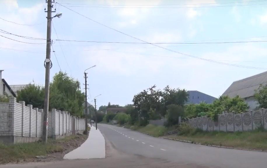 В поселке Карнауховка впервые строят тротуар на улице Центральной